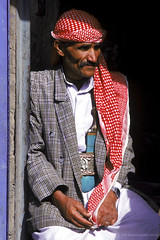 Yemeni man in village. Yemen | by World Bank Photo Collection