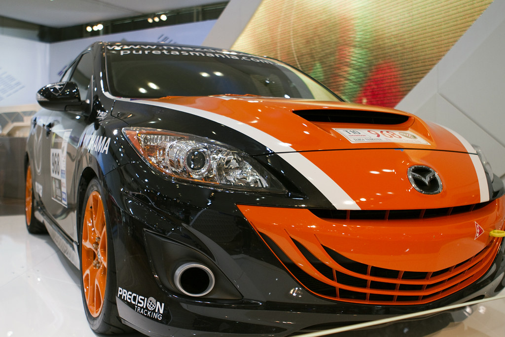 mazda 3 mps race car sydney international motor show. Black Bedroom Furniture Sets. Home Design Ideas