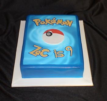 Pokemon Card Cake Ideas