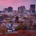 November Sunset Over Dayton by Jim Crotty