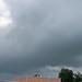 dark and foreboding skies