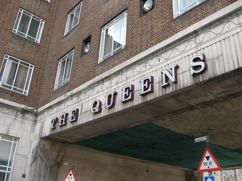 Queens Hotel York Menu