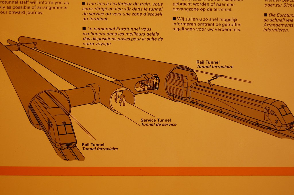 diagram of the chunnel