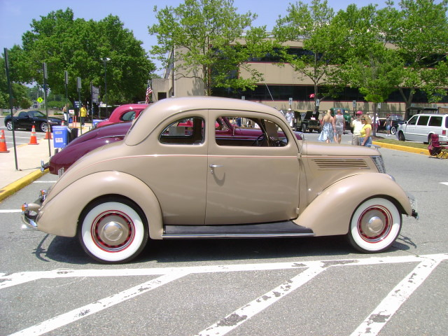 1937 Ford Deluxe Coupe Maryland Motor Vehicle
