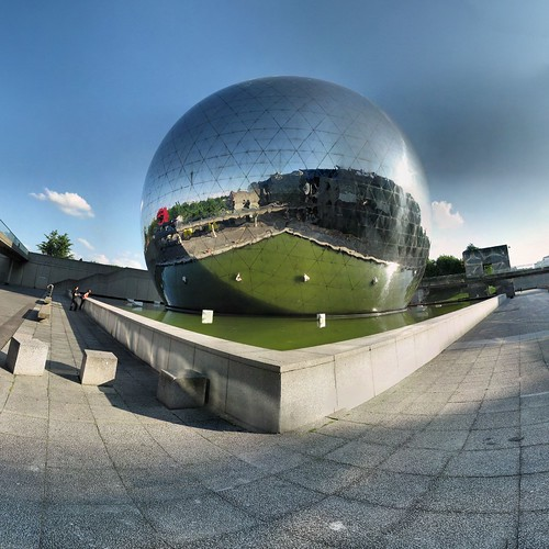 Paris - La Villette - Géode - 9-06-2007 - 19h04 | by Panoramas