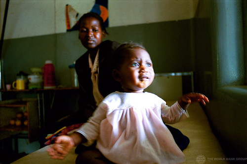 Young child in hospital | by World Bank Photo Collection