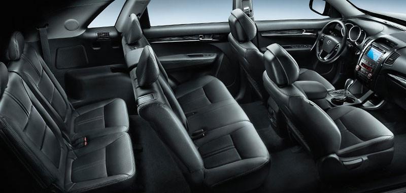 2011 Kia Sorento Interior Seating Configuration | www ...
