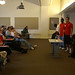 Presentation to prospective students at Discover CI