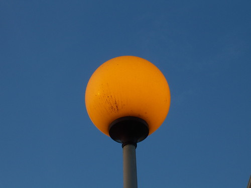 Street Lamp at Dusk | by erikrasmussen
