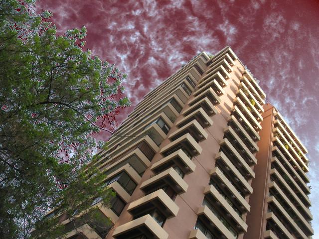 Mi Edificio Se Vienen Las Terrazas Chris Cross St Flickr
