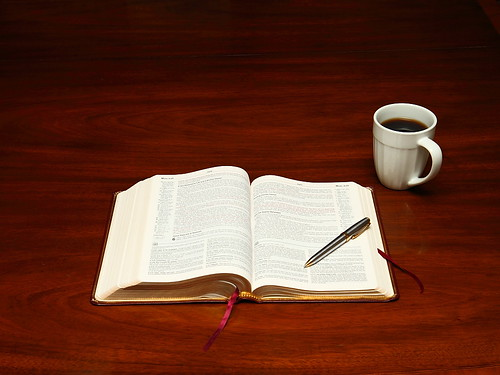Bible Study With Coffee Flickr Photo Sharing
