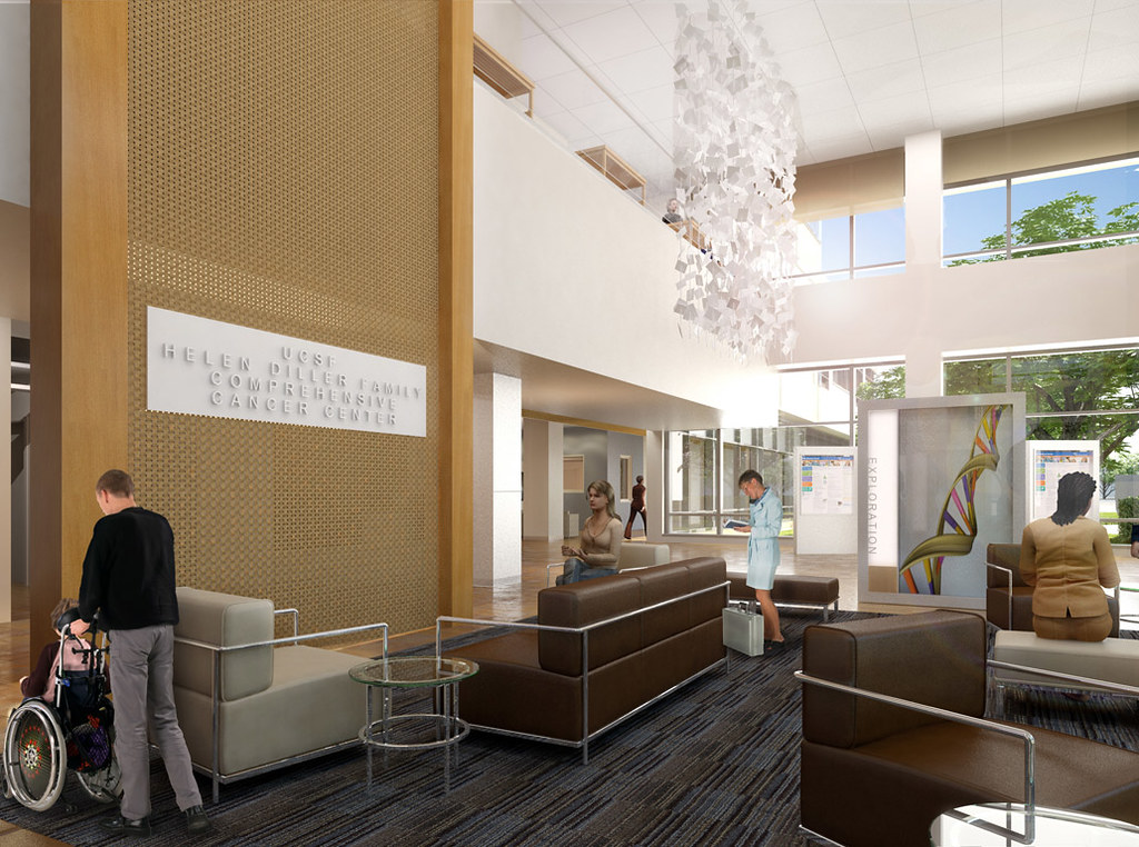 Cancer Hospital Lobby | Seating | UCSF Medical Center at ...