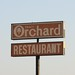 Orchard Restaurant Sign, Tracy, CA