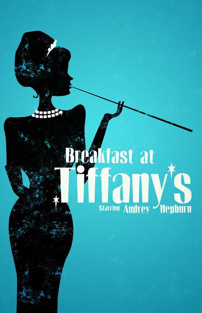 Breakfast at tiffanyu0026#39;s : My tutorial for this poster is ...