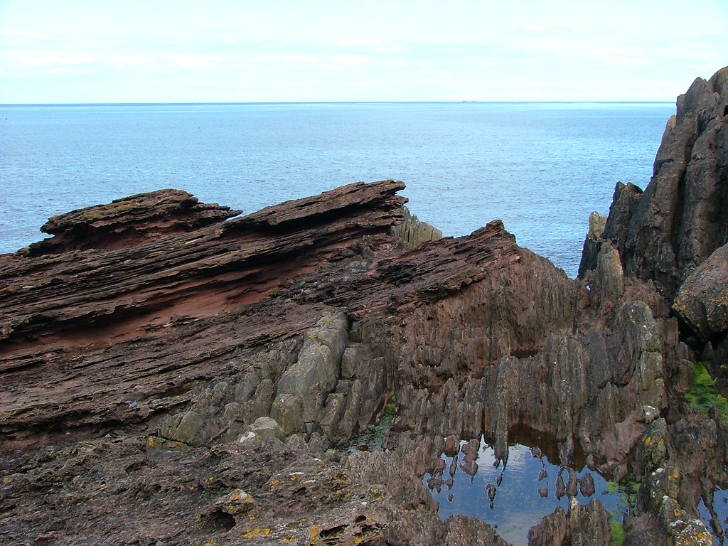 Hutton S Unconformity Siccar Point The Birthplace Of