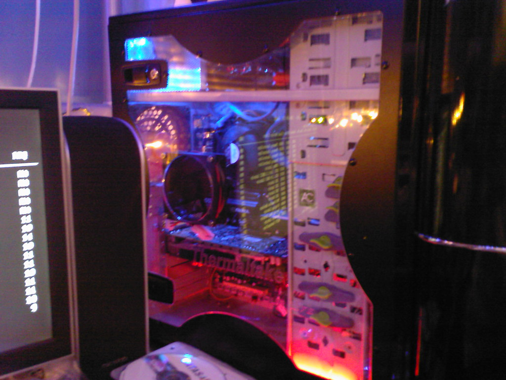 My latest PC | An overall shot of my latest built PC ...