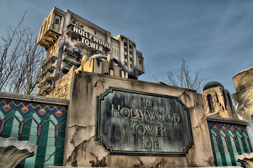 The Hollywood Tower Hotel Walt Disney Studios Paris Flickr