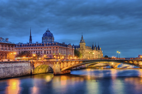 Seine River At Night  Flickr  Photo Sharing