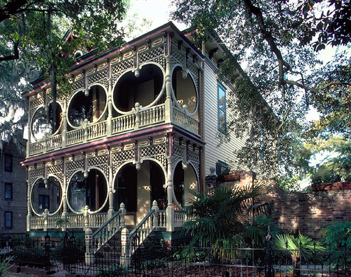 Gingerbread house savannah ga flickr photo sharing for Architectural gingerbread trim