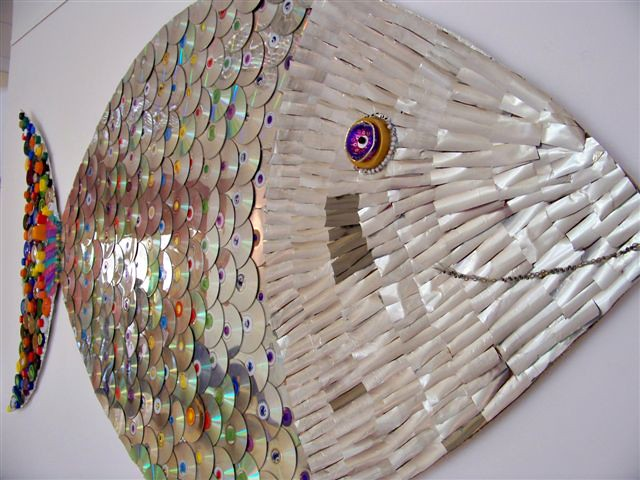 A Fish Called Wanda Schools Recycled Art Project Flickr