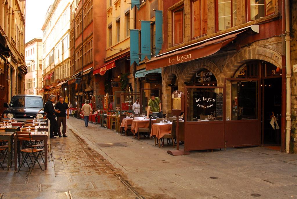 Restaurants Rue Saint Jean Lyon