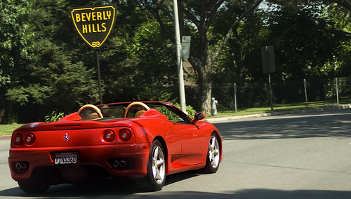 beverly hills ferrari didn 39 t even mean to catch that. Cars Review. Best American Auto & Cars Review