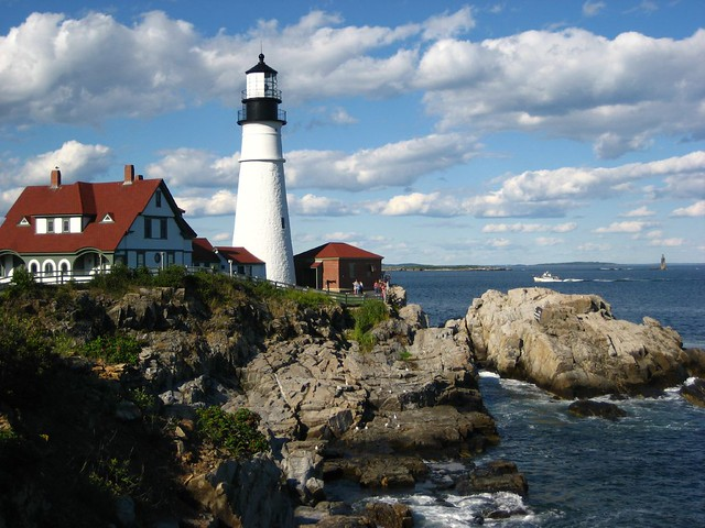 The most photographed lighthouse in maine kat flickr - Camera world portland ...