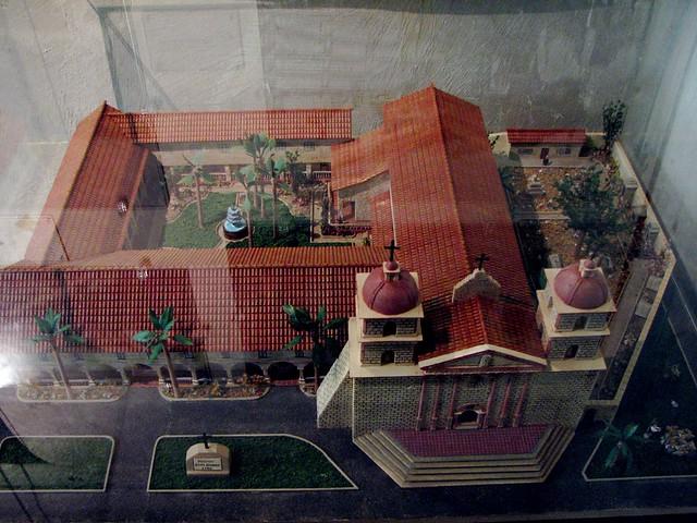 Santa Barbara Mission Model Dylan Flickr