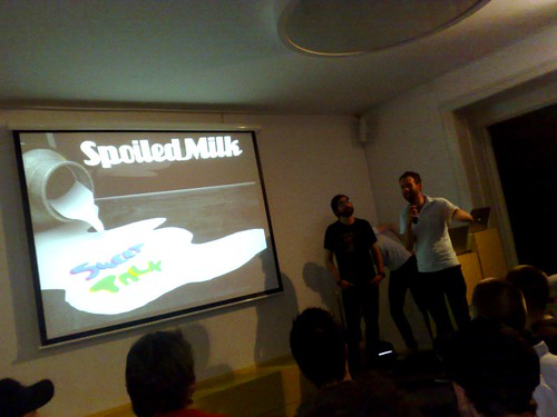 Sweet Talk Copenhagen, Spoiled Milk is up | by olofw