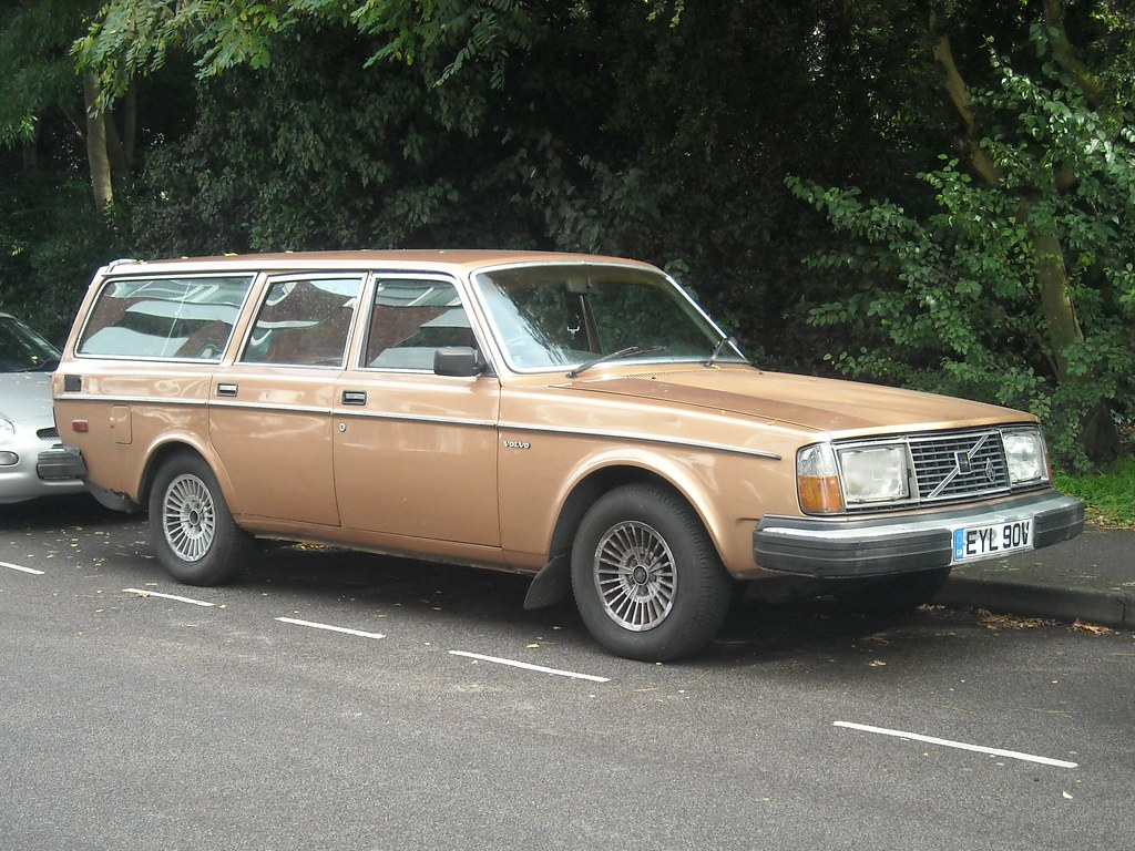 1980 Volvo 245 Gl They Didn T Do Low Profile Tyres Back