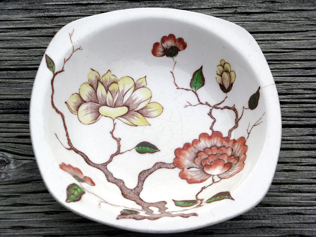 Vintage Midwinter Jessie Tait Design Ceramic Soup Bowl M