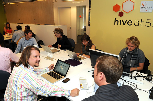 Mayor Bloomberg Tours the Downtown Alliance's Hive at 55 | by Alliance for Downtown New York