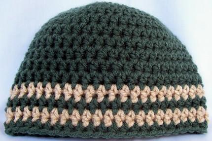 Patron gorro crochet hombre - Imagui