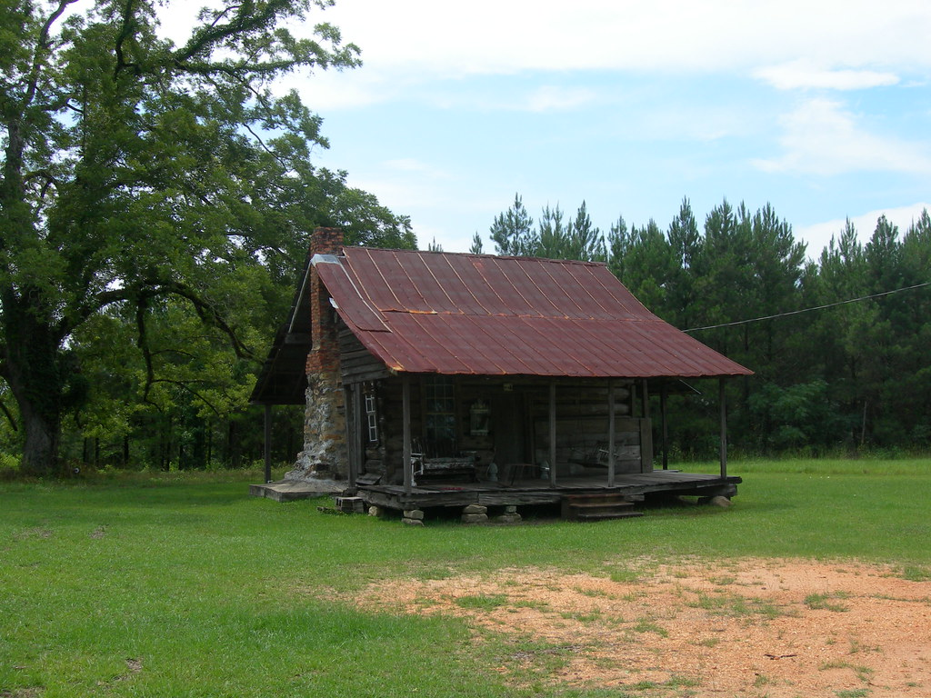 Pugh s log cabin built circa early in the awin