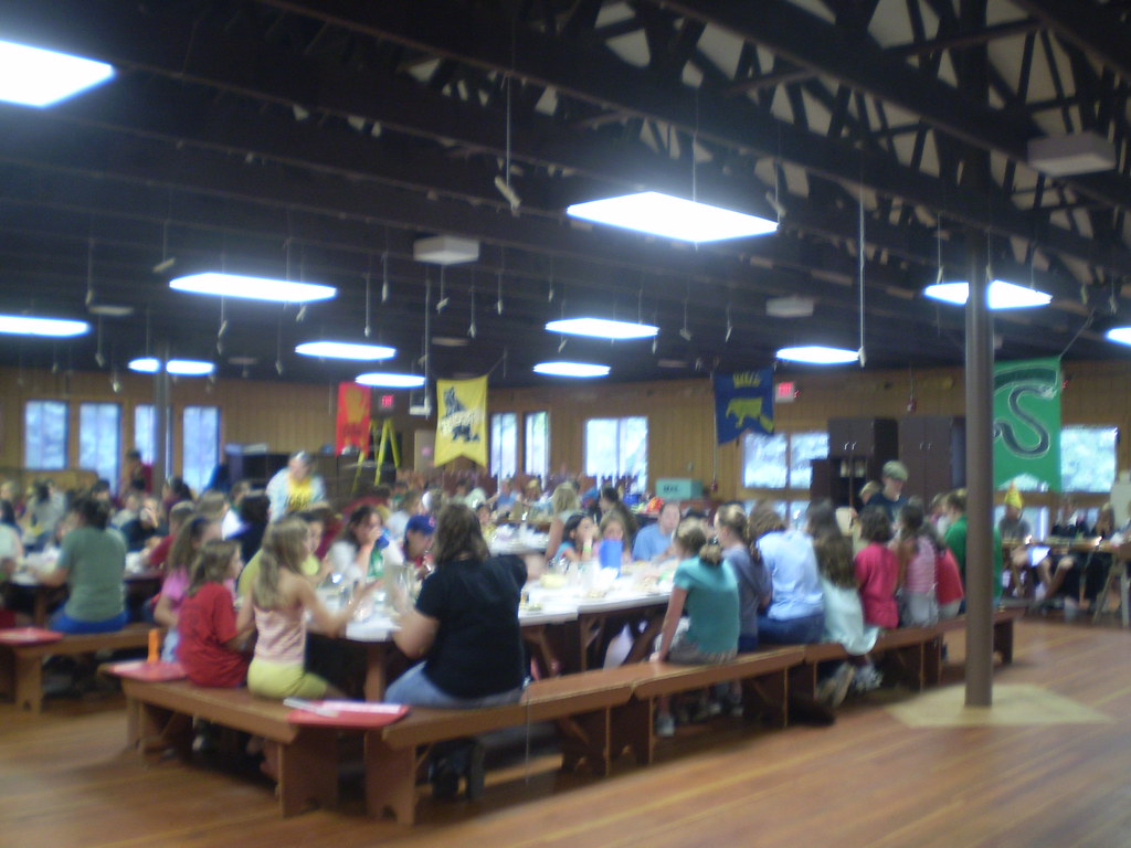 Great Hall Banquet For Harry Potter Week At Camp Mosey Wo