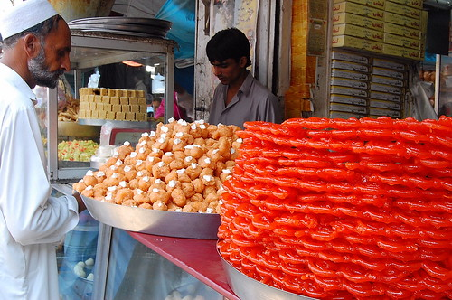 Sweets at Gujarkhan Bazar, Pakistan | by ..friend_faraway..