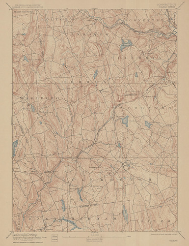 Gilead Sheet 1912 - USGS Topographic 1:62,500 | by uconnlibrariesmagic