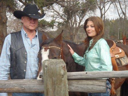 Gord, Christine and Dakota   Global TV's Gord Steinke ...