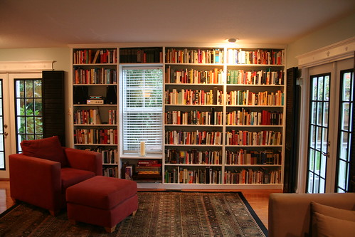 New Built-In Bookshelves | by Philip Fibiger