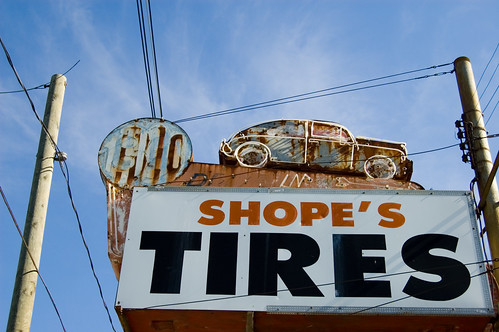 Shope's Tires | by GmanViz