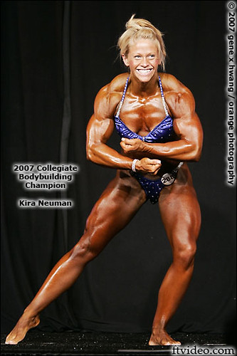 Kira Neuman - 2007 Collegiate Bodybuilding National Champi