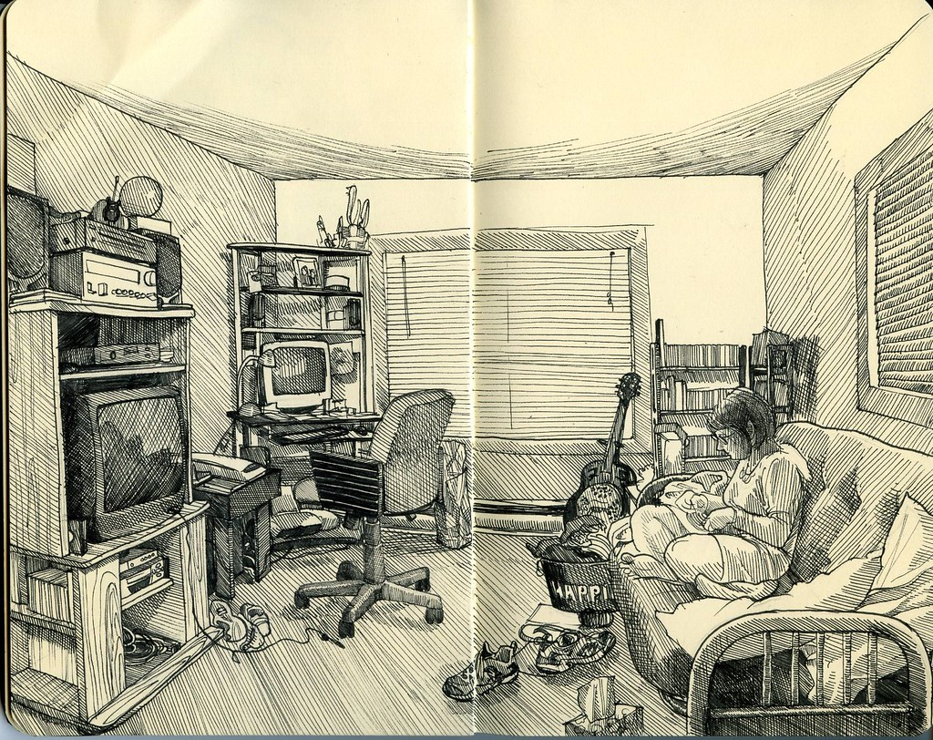 drawings of living rooms the living room paul heaston flickr 16101