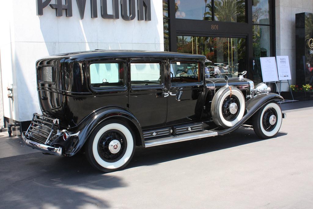 Al Capone's 1930 Cadillac 452 V-16 Armored Imperial Sedan ...