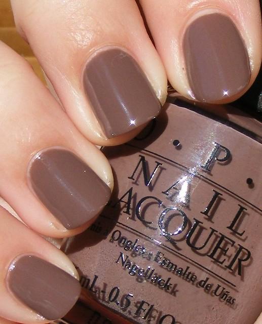 Opi Nail Polish Mauve Color: 2 Coats, Paige Denim Brights 2009