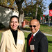 Tania Garcia and Marty do los Cobos attending Breakfast with the President event