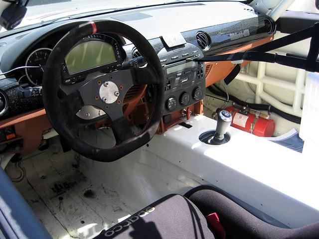 Mazda Miata Race Car Minimal Interior Race Spec