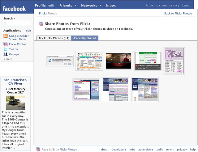 facebook how to send multiple photos message