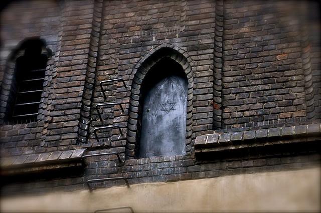 Old new synagogue door prague flickr photo sharing for Door z prague