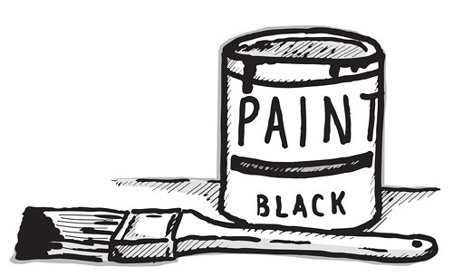 paint can black | blackcattips | Flickr