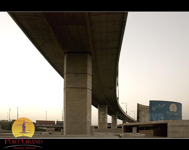 Ici Bridge From Port Grand